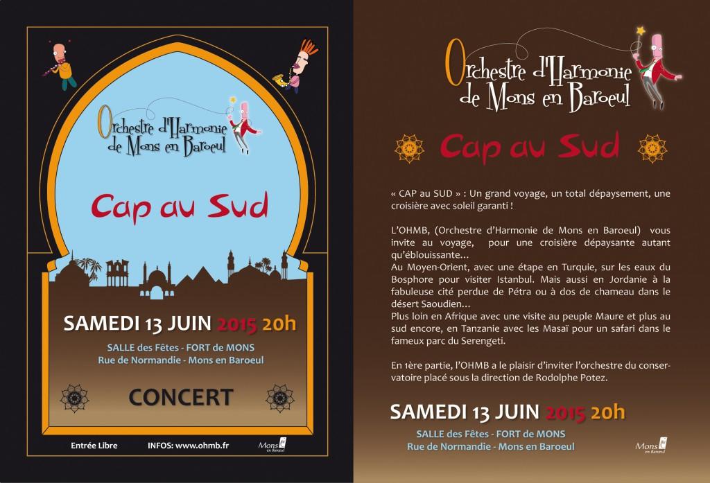 Concert OHMB 13 juin 2015 - Flyer